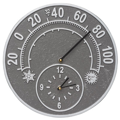 Whitehall Solstice Clock And Thermometer Product Image
