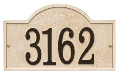 Whitehall Stonework Arch Address Plaques Product Image