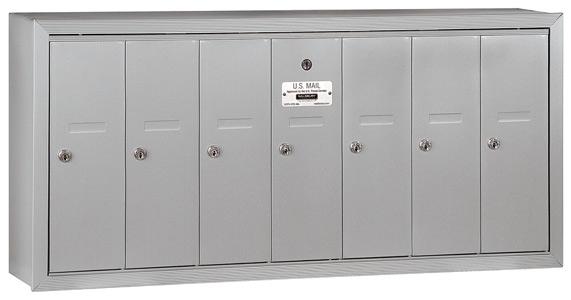 Salsbury 7 Door Surface Vertical Mailbox