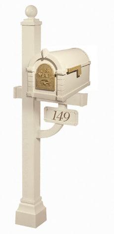 Keystone Eagle Deluxe Post Almond Brass