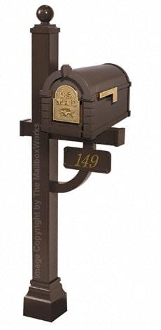 Keystone Eagle Deluxe Post Bronze Brass