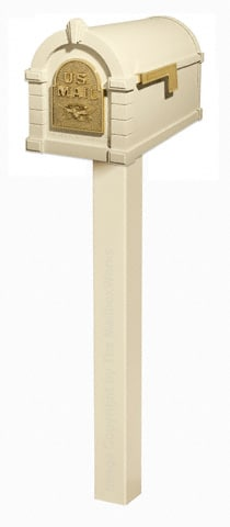 Keystone Eagle Standard Post Almond Brass