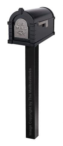 Keystone Eagle Standard Post Black Nickel