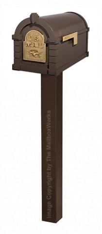 Keystone Eagle Standard Post Bronze Brass
