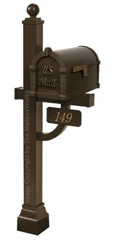 Keystone Signature Deluxe Post Bronze Antique