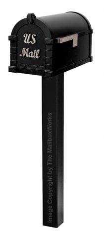 Keystone Signature Standard Post Black Nickel