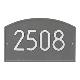 Whitehall Modern Legacy Plaque Pewter Silver