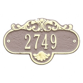 Whitehall Petite Rochelle Plaque Taupe Ivory