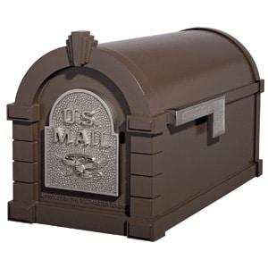 Eagle Keystone Mailbox Metallic Bronze Nickel