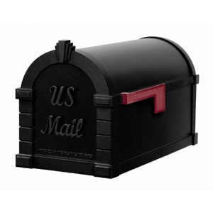 Gaines Signature Keystone Mailbox All Black