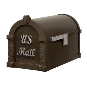 Signature Keystone Mailbox Metallic Bronze Nickel