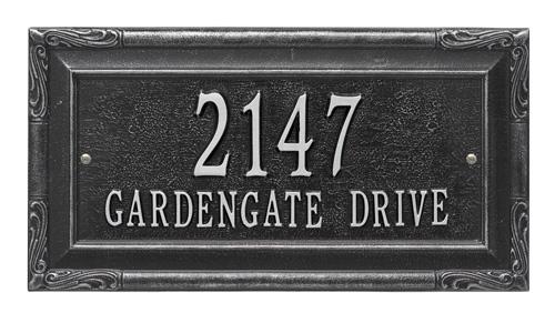 Whitehall Gardengate Address Plaque