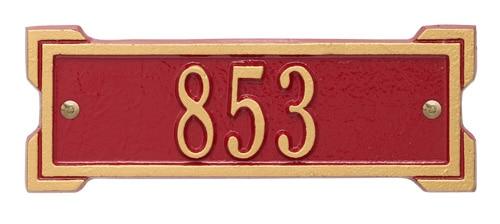 Whitehall Petite Roanoke Address Plaque