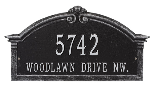 Whitehall Roselyn Address Plaque Product Image