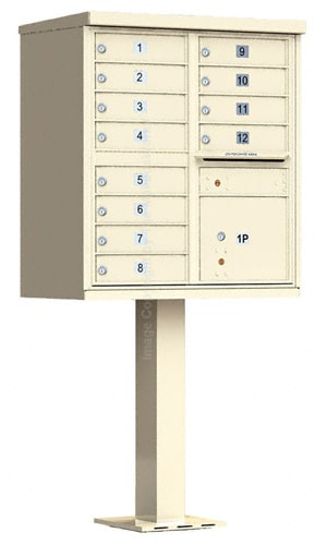 12 Door Cluster Mailbox Units by Auth Florence Product Image
