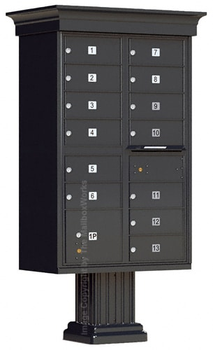 13 Door Cluster Mailboxes Classic Accessories by Vogue Product Image