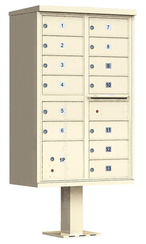 13 Door Cluster Mailboxes by Auth Florence Product Image