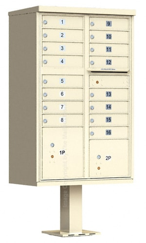 16 Door Florence CBU Cluster Mailboxes Product Image