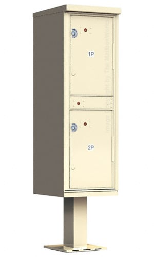 Outdoor Parcel Lockers 2 Doors by Florence Manufacturing Product Image