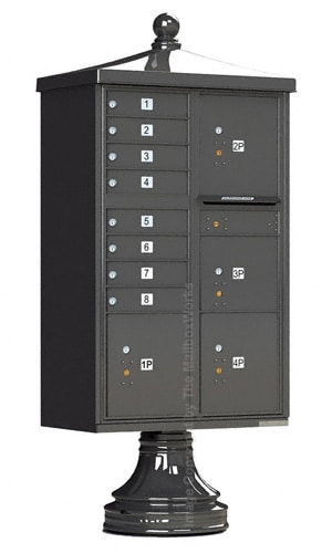 8 Door CBU Mailboxes 4 Parcel Lockers with Vogue Kit Product Image