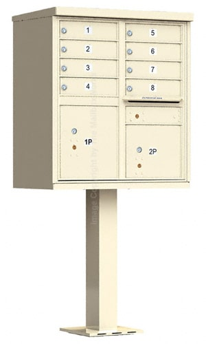 8 Door Cluster Mailbox Unit by Florence Mfg Product Image