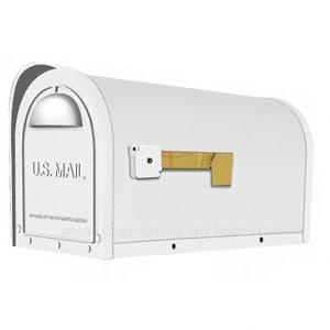 Special Lite Classic Mailbox White