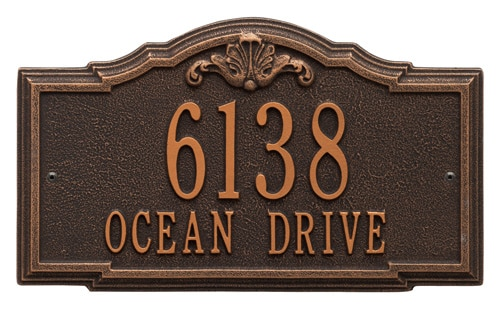 Whitehall Gatewood Address Plaque Product Image