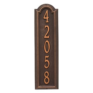 Whitehall Manchester Vertical Oil Rubbed Bronze