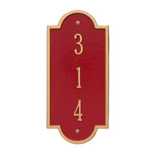 Whitehall Petite Richmond Vertical Red Gold