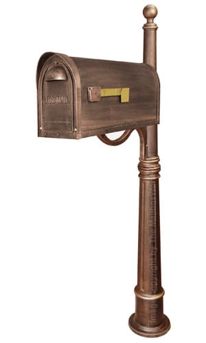 Special Lite Classic Mailbox with Ashland Post Product Image