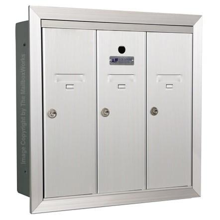 3 Door Vertical Mailboxes