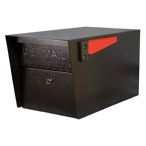 Mail Manager Pro Post Mount Locking Mailbox Product Image