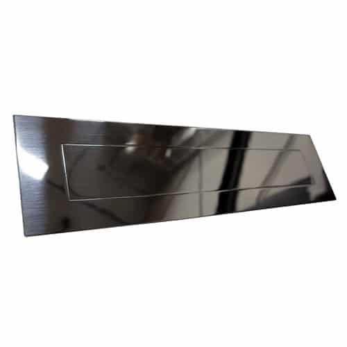 Letter Plate Mirror Polished Finish