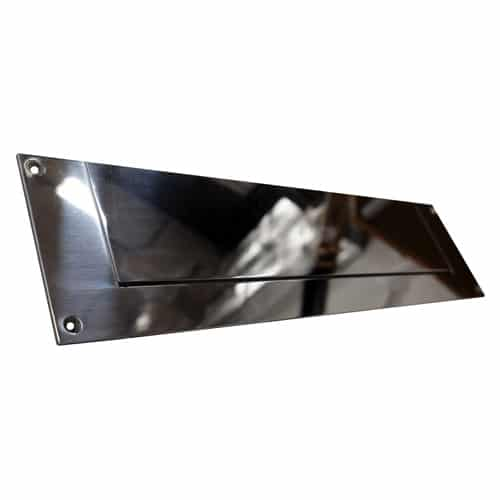 Letter Plate Mirror Polished Rear Plate