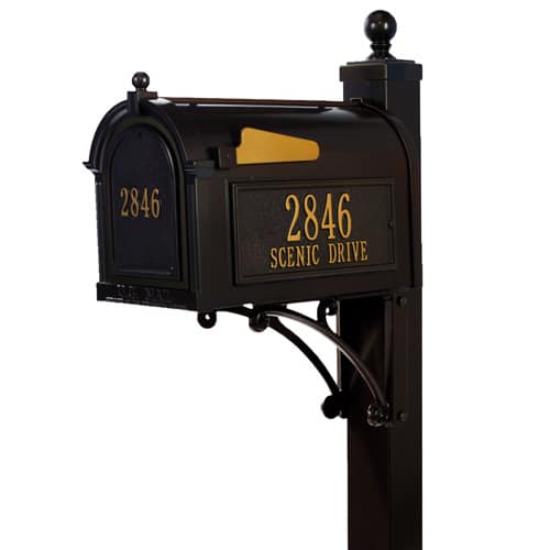 Whitehall Custom Mailbox and Post Package for Sale Product Image