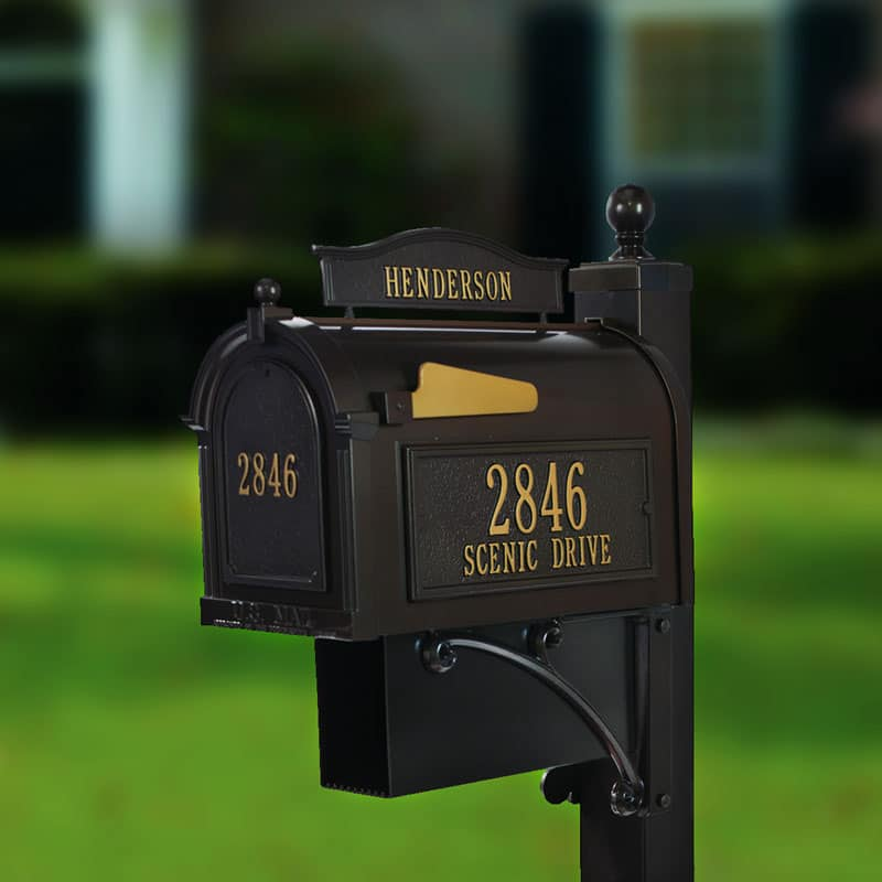 How to Install A Curbside Mailbox Post System