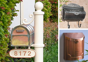 Antique Mailboxes Featured Image