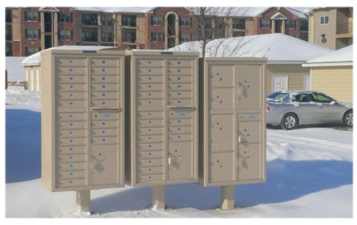 Florence 4C Pedestal Mailboxes Are Discontinued