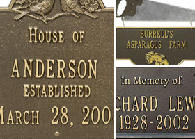 Custom Plaques & House Signs Featured Image
