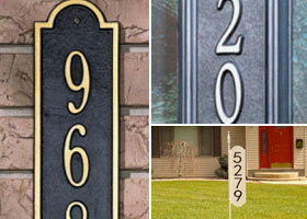 Vertical Address Plaques Featured Image